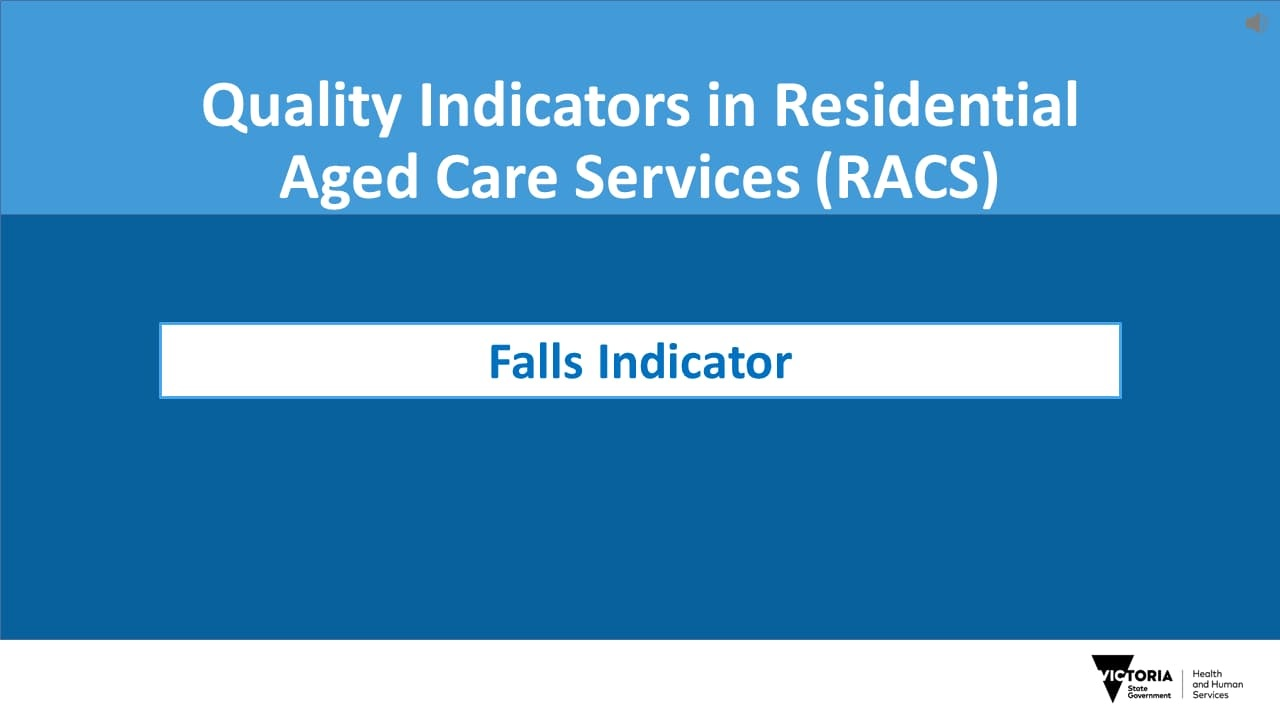 Online training for residential aged care workers - health vic